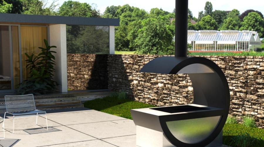 barbecue design su misura