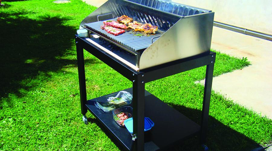 progettazione barbecue su misura