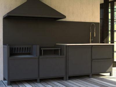 cucina BBQ 3